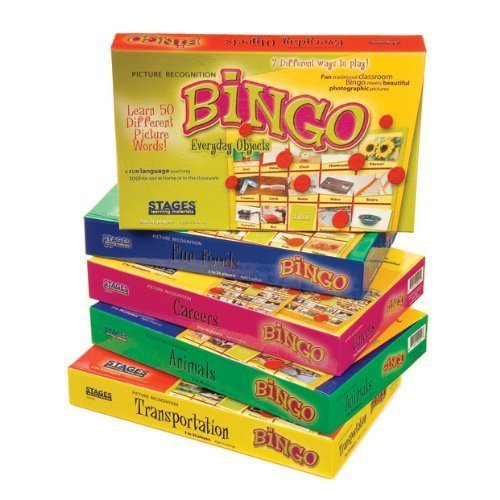 - Children's Real-Life Picture Bingo Game- All 5 Sets