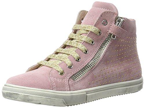 Lepi 3973leq - Zapatilla alta Niñas Pink (3973 C.09 Rosa)