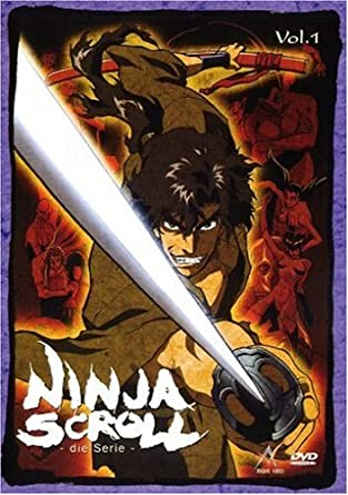 Ninja Scroll - Die Serie Vol. 01 Episoden 01-04 Alemania DVD ...