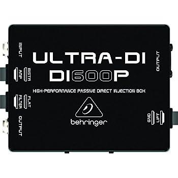 Behringer DI400P Ultra DI High Performance Passive DI Box