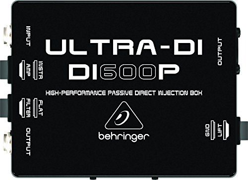 Behringer Ultra-DI DI600P Professional High-Performance Passive DI-Box