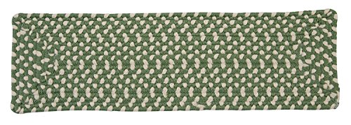 Montego MG19 Stair Tread, Lily Pad Green, 13-Pack
