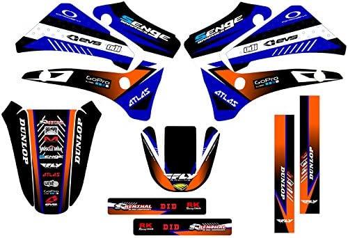 Surge Black Base kit Senge Graphics Compatible with Yamaha 2000-2007 TTR 125