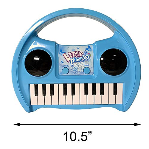 KidPlay Products Little Pianist Singing Musical Karaoke Lights Up Keyboard by KidPlay Products (Image #3)