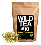 Herbal Chamomile Tea by Wild Foods, Organically Grown Egyptian Chamomile, Wild Tea #10 by Wild Food (4 ounce)