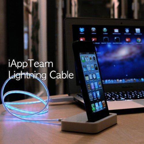 iAppTeam   iPhone5/iPad mini 対応 LEDで光るLightningUSBケーブル