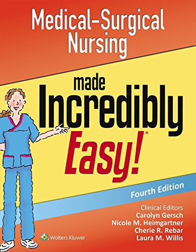 Pdf download medical surgical nursing made incredibly easy pdf download medical surgical nursing made incredibly easy incredibly easy series lippincott williams amp wilkins free online fandeluxe Gallery