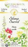 CELEBRATION HERBALS Sheep Sorrel Herb Organic 40 gm, 0.02 Pound