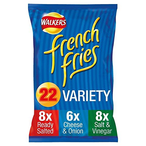 Walkers French Fries Variety Snacks 18g x - 22 per pack (0.87lbs)