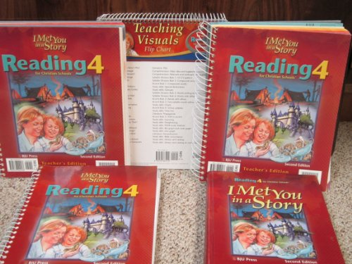 I Met You In A Story: Reading 4 for Christian Schools