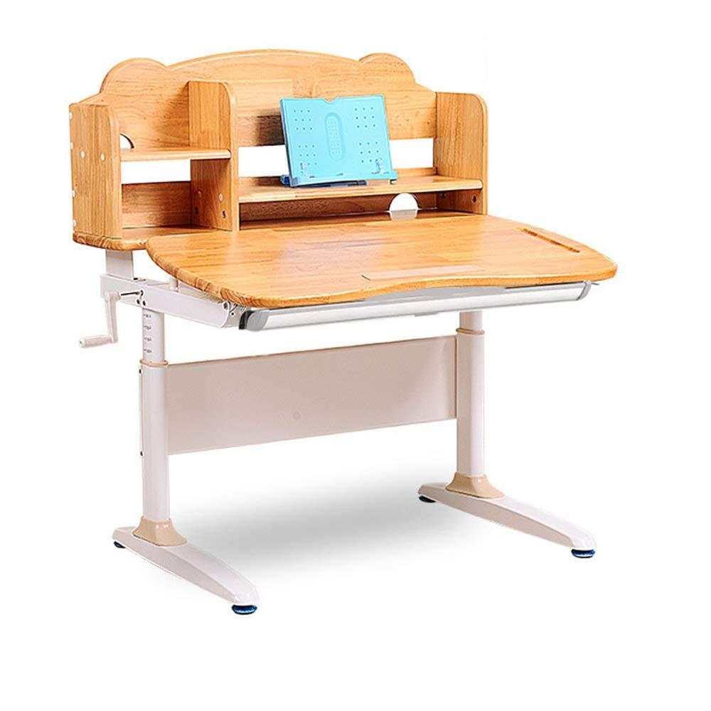 Wood EinheitsGröße Kinderstudienstuhl für Kinder Kinder Studie Schreibtisch Stuhl Tisch Set Kippbare Tisch Und Stuhl Für Kinder Kunst Holztisch Set Work Station Höhe Einstellbar ( Farbe   Wood , Größe   Einheitsgröße )