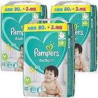 【テープ Mサイズ】パンパース オムツさらさらケア (6~11kg)246枚(82枚×3パック) [ケース品] 【Amazon限定品】