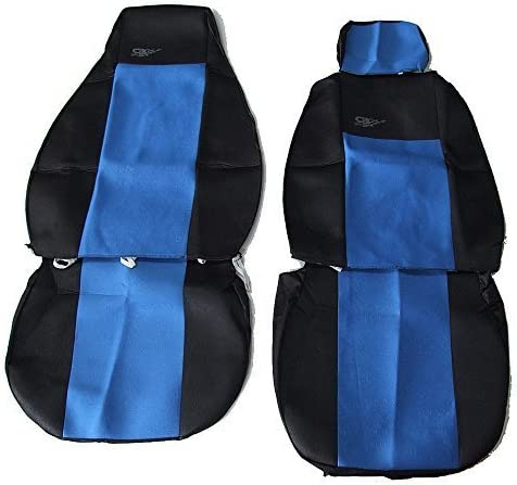 flexzon SCANIA R 620 580 560 440 500 480 BLUE-BLACK TAILORED QUALITY SEAT COVERS