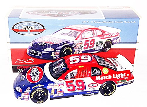AUTOGRAPHED 2016 Jimmie Johnson #59 Kingsford Matchlight Racing 1ST RACE CAR (Chevy Monte Carlo) NASCAR Classics Series Rare Signed Lionel 1/24 NASCAR Diecast Car with COA (#368 of only 841 produced!)