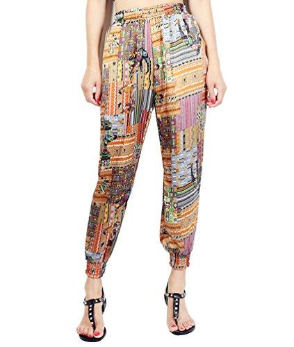 WanYang Pantalones Deportivos Para Mujer Pantalones Harén Pantalones De Deporte Con Impresión Pintar
