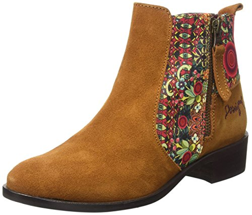 Desigual Rep, Stivaletto Donna, Marrone, EU 37
