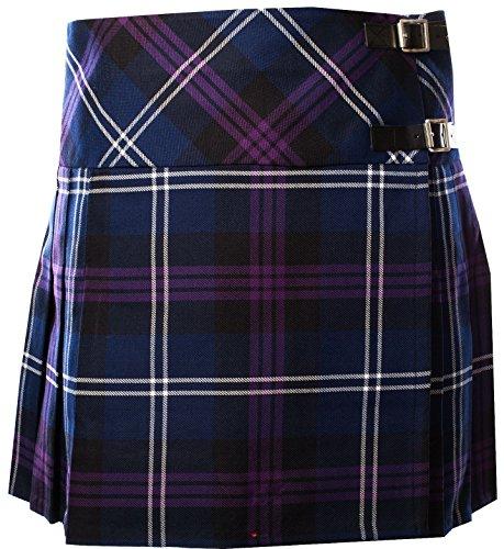 (iLuv Ladies Deluxe Billie Kilt-Skirt Tartan Heritage of Scotland Tartan 20)
