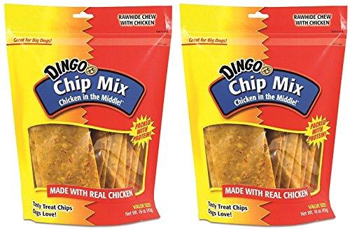 Dingo Chip Mix - Chicken, 16 oz.-2PK