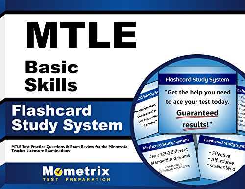 MTLE Basic Skills Flashcard Study System: MTLE Test Practice Questions & Exam Review for the Minnesota Teacher Licensure Examinations (Cards)