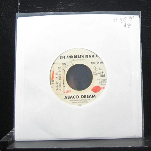 """Price comparison product image Abaco Dream - Life And Death In G & A / Cat Woman - 7"""" Vinyl 45 Record"""