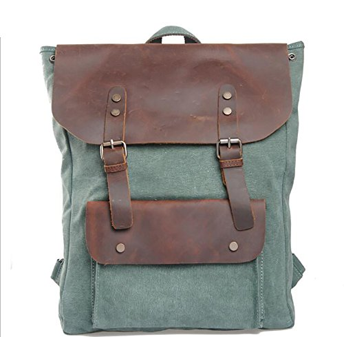 Large Backpack Womens Versatile Leisure capacity Fashionable Canvas UYwdpqqxS