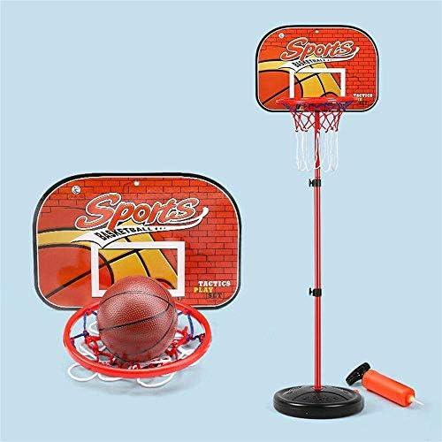 子供バスケットボールフープ高さ調整可能70-140センチボールとポンプ子供バスケットボールスタンドキッズ10代シューティングおもちゃ