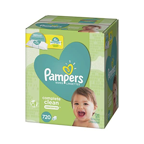 Pampers Fresh Water Water Baby Wipes Refill Packs