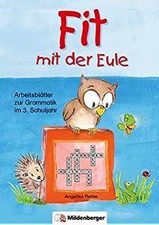 Fit mit der Eule: Arbeitsblätter zur Grammatik im 2. Schuljahr ...