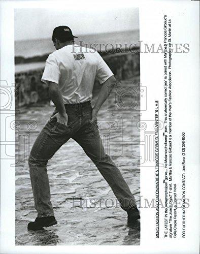 - Vintage Photos 1993 Press Photo Fashion- The Metamorphobump jean by Marithe & Francois Girbaud