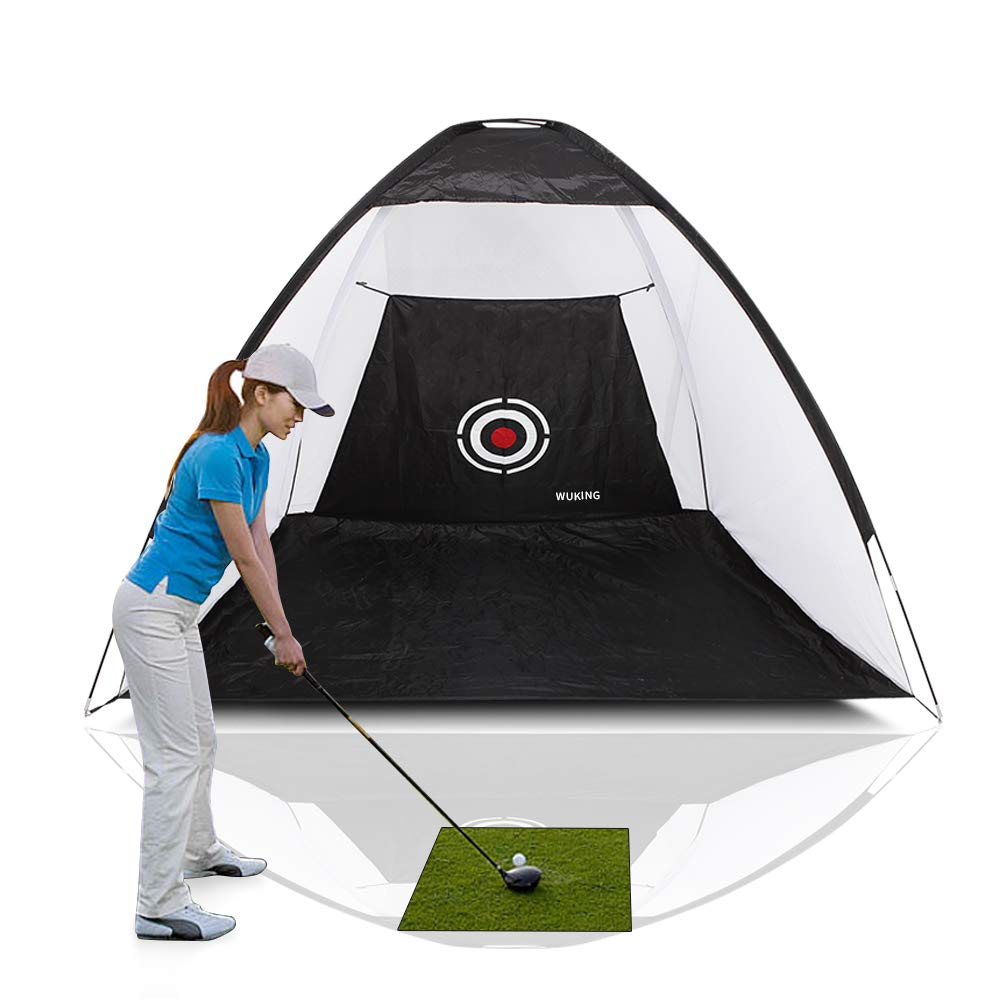 WUKING Golf Net - for Backyard Practice Chipping, Driving, Hitting Balls, Heavy-Duty Target for Testing Range, Swing, and Clubs, Beginner, Professional Golfing Accessories by WUKING