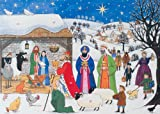 Alison Gardiner Traditional Advent Calendar 'Jesus is Born' Large with Nativity Story