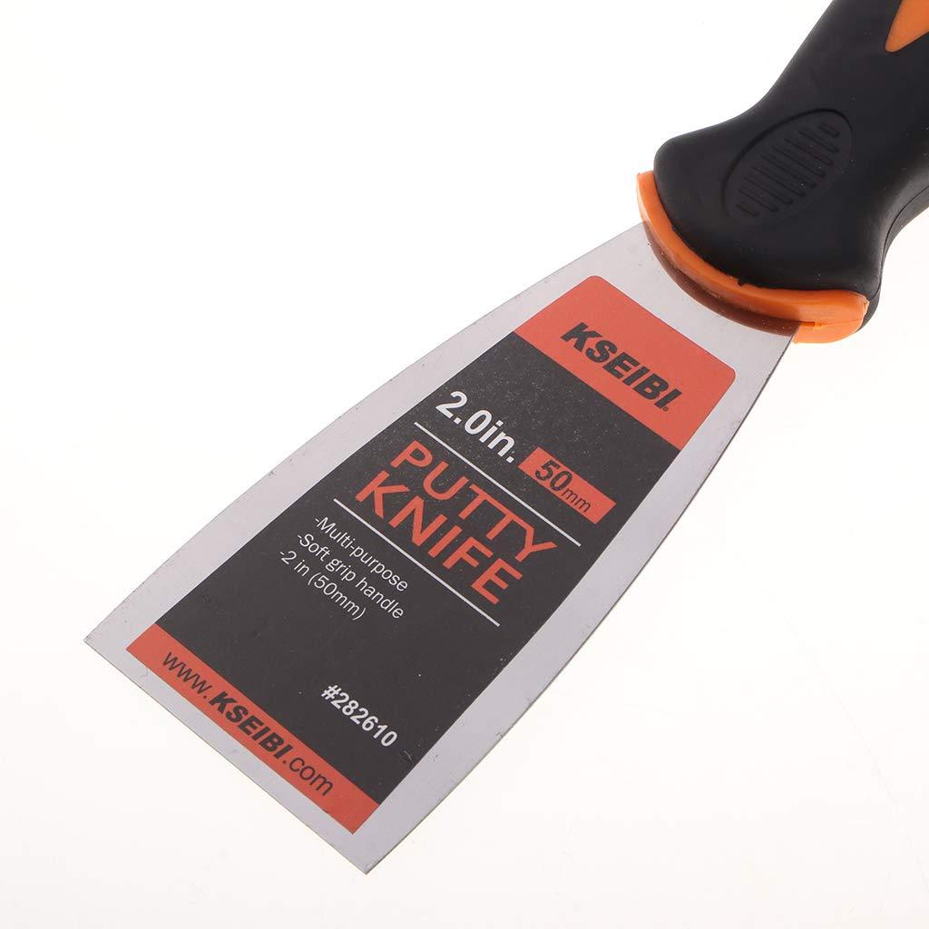 1 Pollice KESOTO Spatola Paint Scraper Strumenti per Rimuovere Mastice Sciolto dalla Carta