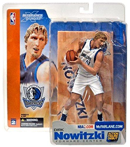 Dallas Mavericks Nba Series - McFarlane Toys NBA Sports Picks Series 2 Action Figure Dirk Nowitzki (Dallas Mavericks) White Jersey Variant