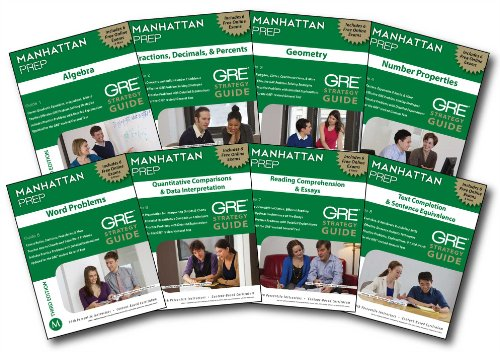 Manhattan Prep GRE Set of 8 Strategy Guides, 3/e (Paperback)-cover