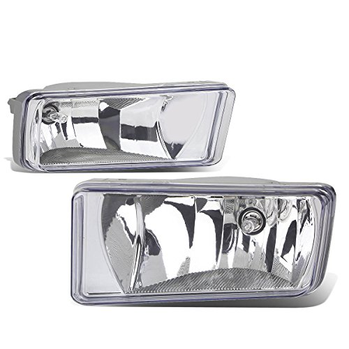 Chevy/GMC GMT900 Truck Pair of Bumper Driving Fog Lights (Chrome1)