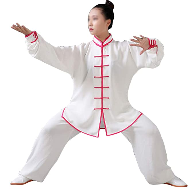PengGengA Chino Unisex Uniforme De Kung Fu Tai Chi Traje Ropa ...