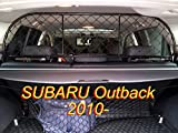 Dog Guard, Pet Barrier Net and Screen RDA65-M8 for SUBARU Outback, car model produced from 2010 to 2014, for Luggage and Pets Review