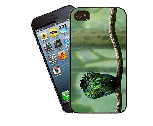 Handy-Tasche - Papagei dieses Cover passt Apple Modell iPhone 4 / 4 s - von Eclipse-Geschenk-Ideen
