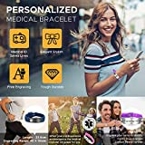 Personalized Adjustable Medical Bracelets Sport