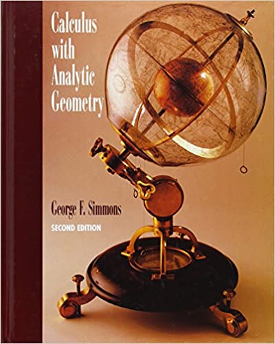 Calculus with analytic geometry george f simmons 9780070576421 calculus with analytic geometry 2nd edition fandeluxe Gallery