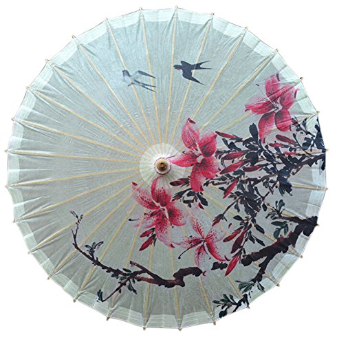 [Swallows Return] Handmade Chinese oil paper umbrella 33 inches in Diameter (Superstore+patio)