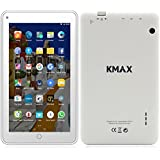 """ECVILLA KMAX 7"""" Android Kids Tablet, 1.3GHz Quad Core, IPS Display, 2GB RAM/8GB ROM, Bluetooth, WiFi - White"""