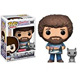 Funko Pop Television Bob Ross and Pea Pod Joy of Painting Vinyl Figure
