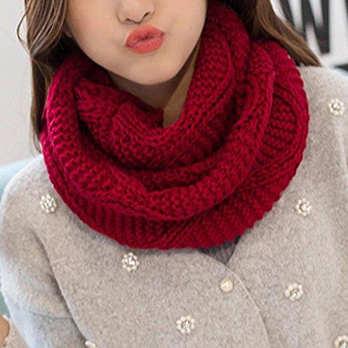 O Schal Warm Wine OverDose Snood Schal Deckenschal Cowl Knit Mode ...