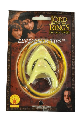 Rubie's Lord of the Rings Elf Ear tips Adult Costume Accessory