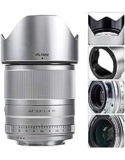 $259 » VILTROX 33mm F1.4 AF Auto Focus Lens Compatible with Canon EOS-M Mount Cameras M6Ⅱ M50 M5 M3 M100 M10 APS-C Prime Lens Dual Aperture(33mm f1.4)