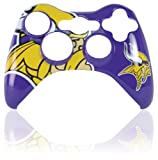 xbox 360 controller cover nfl - Xbox 360 Official NFL Minnesota Vikings Controller Faceplate