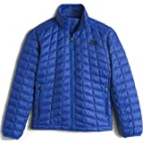 The North Face ThermoBall Full Zip Boys Kids Midlayer color: HONOR BLUE size: LG (14-16 Big Kids)