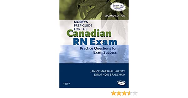 mosby s prep guide for the canadian rn exam practice questions for rh amazon com canadian pn exam prep guide