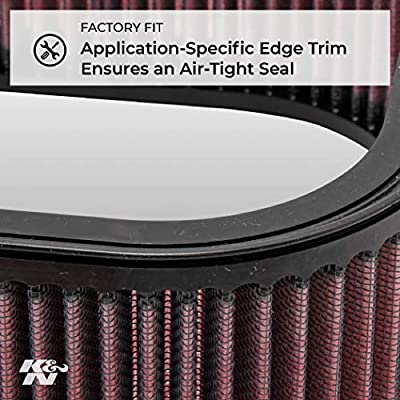 K&N Engine Air Filter: High Performance, Premium, Powersport Air Filter: 1996-2008 KAWASAKI/SUZUKI (VN1500, VN1600, M95 Boulevard) KA-1596: Automotive